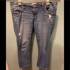 Aeropostale Crop Jeans